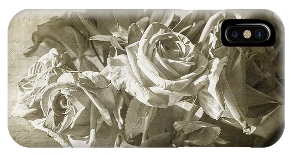 Fading Roses IPhone Case