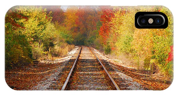 Fading Tracks IPhone Case