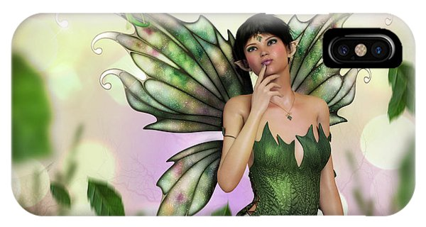 Fae Spring IPhone Case