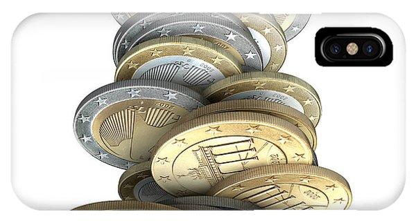 Finance iPhone Case - Failing Economies by Allan Swart