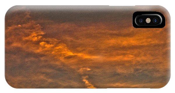 Faint Clouds Phone Case by Marquis Crumpton