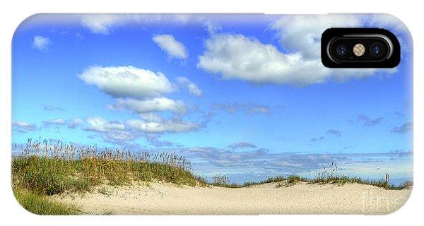 Fair Weather Along The Beach IPhone Case