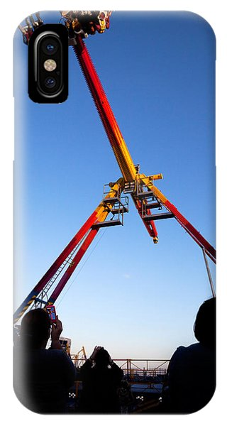 Funfair iPhone Case - Fairground Ride , Tramore, County by Panoramic Images