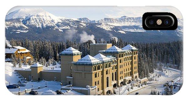 Fairmont Chateau Lake Louise IPhone Case