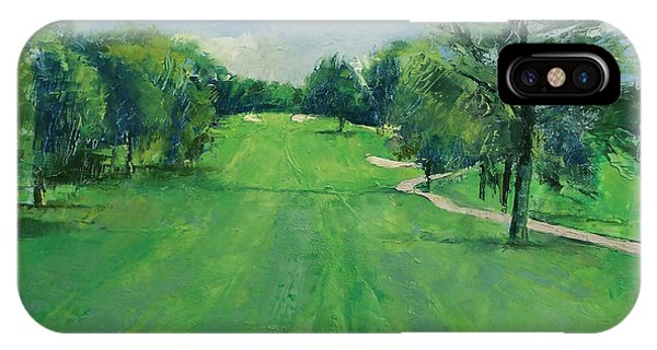 Golf iPhone Case - Fairway To The 11th Hole by Michael Creese