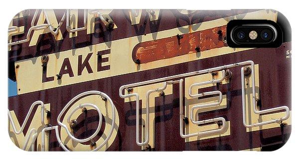 Travel iPhone Case - Fairwood Motel by Jim Zahniser