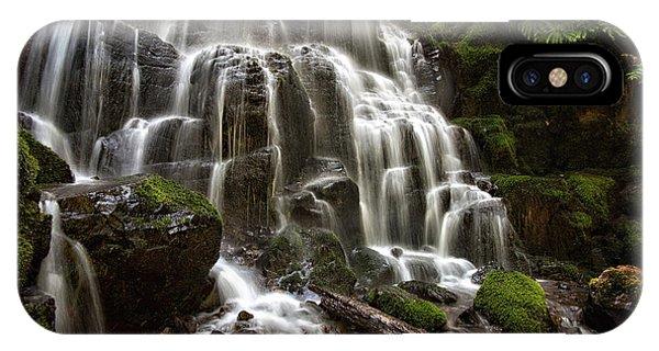 Fairy Falls Oregon IPhone Case