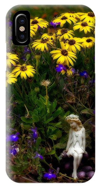 Fairy In Garden Pot IPhone Case