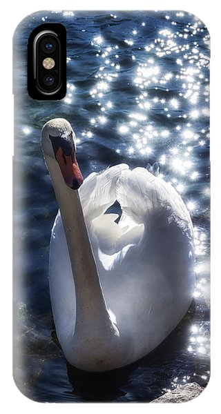 Fairy Swan IPhone Case