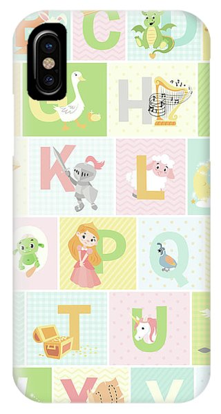 Fairy iPhone Case - Fairy Tale Alphabet by Josefina