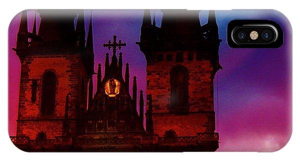 Fairy Tale Castle Prague IPhone Case