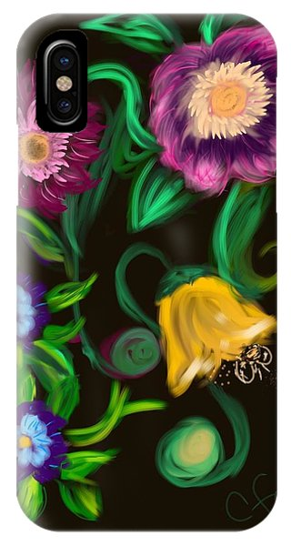 Fairy Tale Flowers IPhone Case