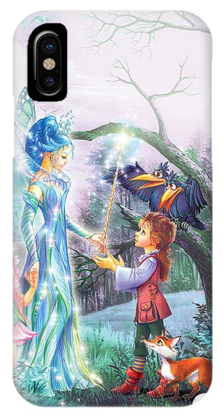 Bravery iPhone Case - Fairy Wand by MGL Meiklejohn Graphics Licensing