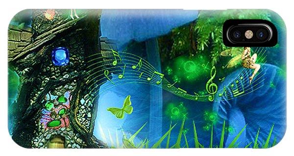 Fairyland - Fairytale Art By Giada Rossi IPhone Case