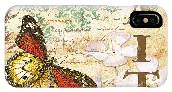 Faith And Butterflies IPhone Case
