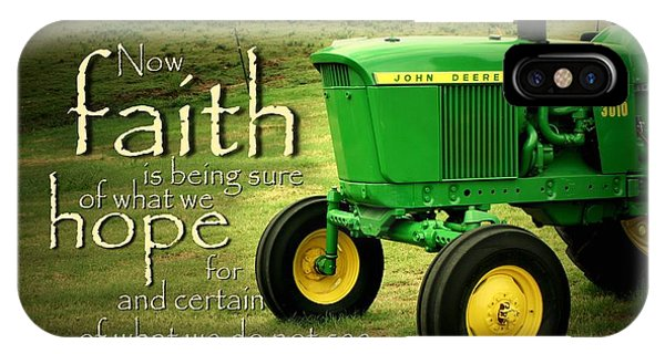 Farm iPhone Case - Faith And Hope by Linda Fowler