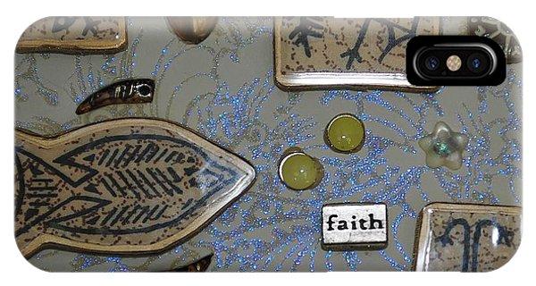 Faith Collage IPhone Case