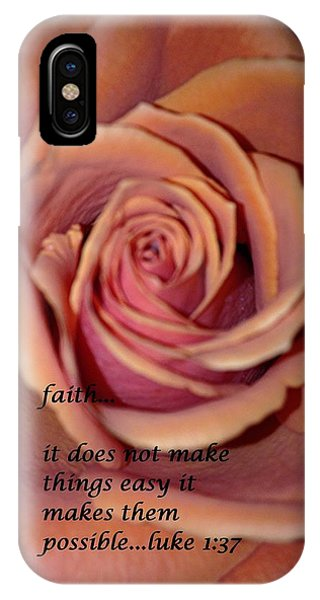 IPhone Case featuring the photograph Faith by Marian Palucci-Lonzetta