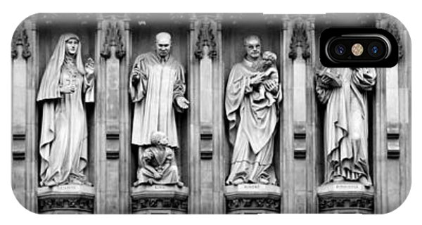 Westminster Abbey iPhone Case - Faithful Witnesses by Stephen Stookey