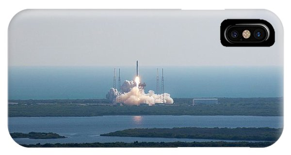 Liftoff iPhone Case - Falcon 9 Test Flight by Nasa/science Photo Library