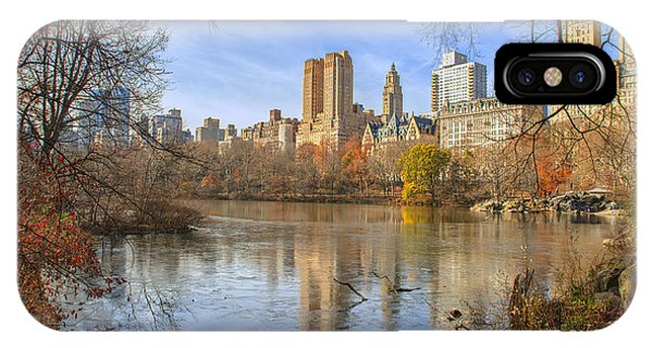Fall Afternoon At Central Park IPhone Case