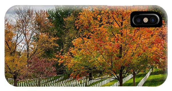 Fall Arlington National Cemetery  IPhone Case