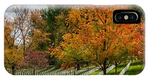 Fall Arlington National Cemetery  IPhone Case