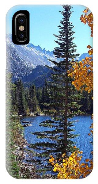 Fall At Bear Lake IPhone Case