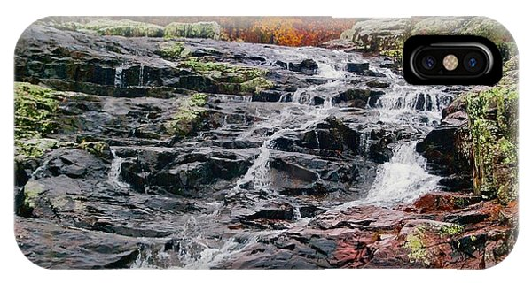 Fall At Black Falls Phone Case by Larry Bodinson