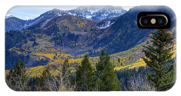 Fall At Cascade Peak And Sundance From Alpine Loop  IPhone Case
