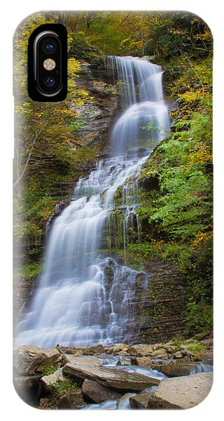 Fall At Cathedral Falls IPhone Case