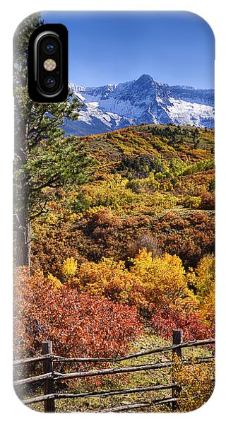 Fall At Dallas Divide IPhone Case