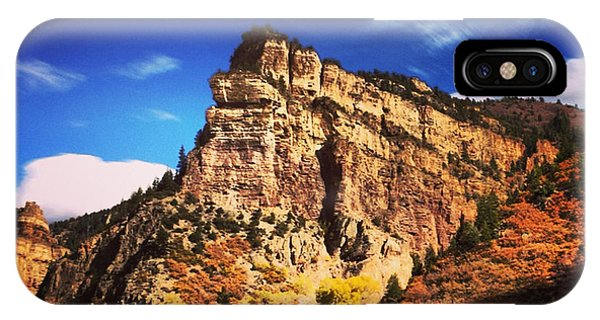 Fall At Hanging Lake Colorado Phone Case by Tory Stoffregen