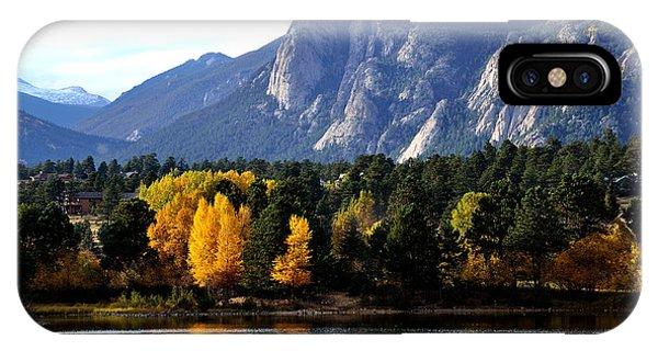 Fall At Lake Estes IPhone Case