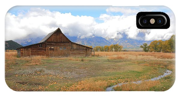 Fall At Moulton Barn IPhone Case