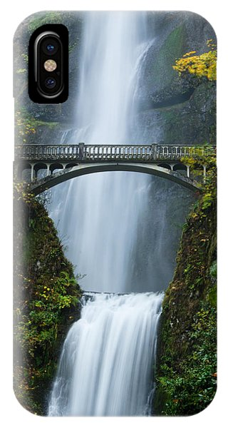 Fall At Multnomah Falls IPhone Case