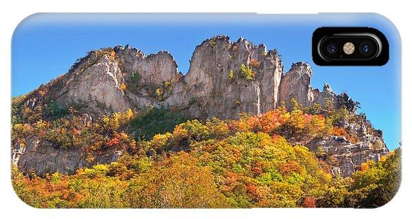 Fall At Seneca Rocks IPhone Case