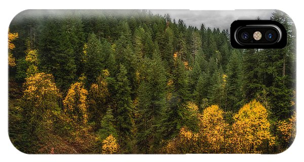Fall At Silver Falls IPhone Case