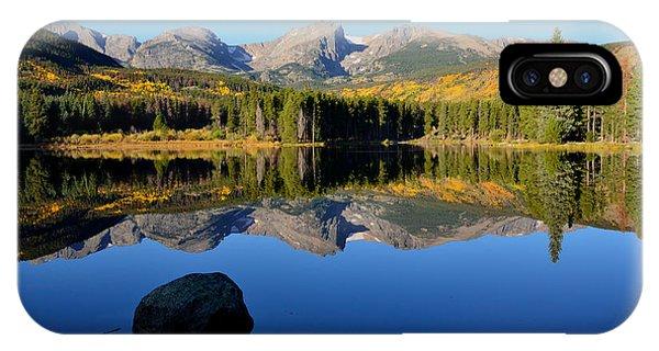Fall At Sprague Lake IPhone Case