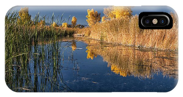 Fall At The Canal IPhone Case