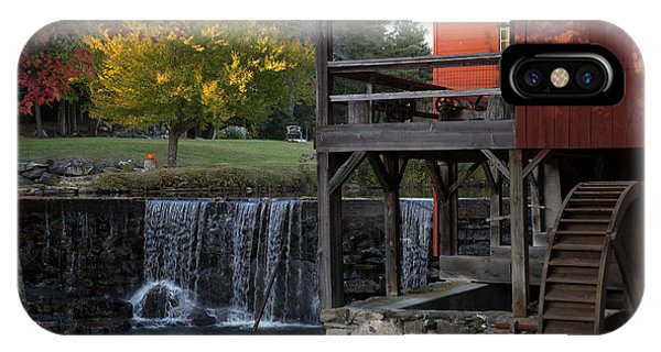 Fall At The Weston Mill IPhone Case