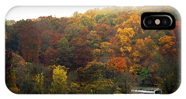 Fall At Valley Forge IPhone Case