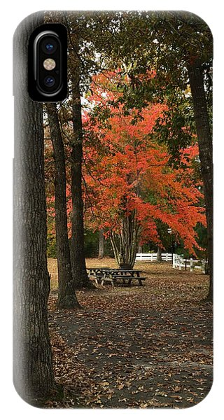 Fall Brings Changes  IPhone Case