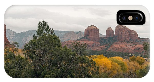 Fall Color Sedona 0495 IPhone Case