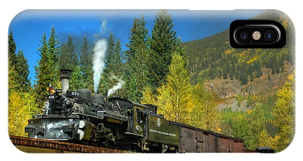Fall Colored Bridge IPhone Case