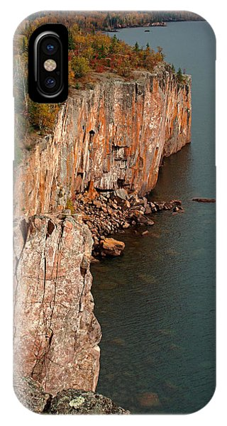 Fall Colors Adorn Palisade Head IPhone Case