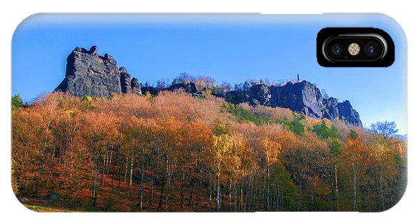 Fall Colors Around The Lilienstein IPhone Case