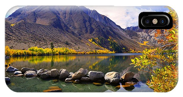 Fall Colors At Convict Lake  IPhone Case