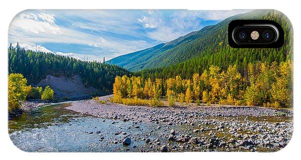 Fall Colors At Glacier National Park Phone Case by Rohit Nair