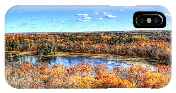 Fall Colors At Itasca State Park IPhone Case